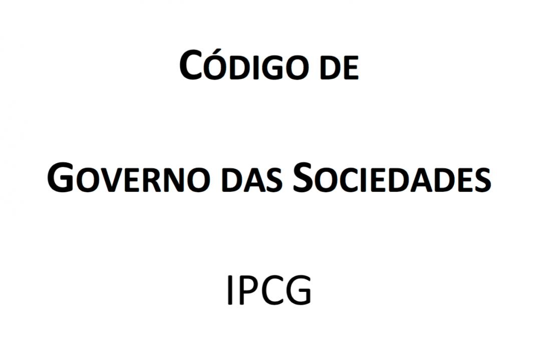Código de Governo das Sociedades do IPCG – 2018