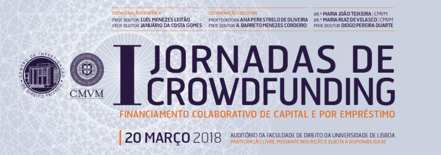 CMVM e Faculdade de Direito de Lisboa debatem futuro do crowdfunding
