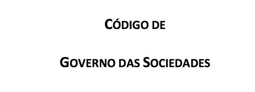 "Encontro ""Código de Governo das Sociedades 2018"""