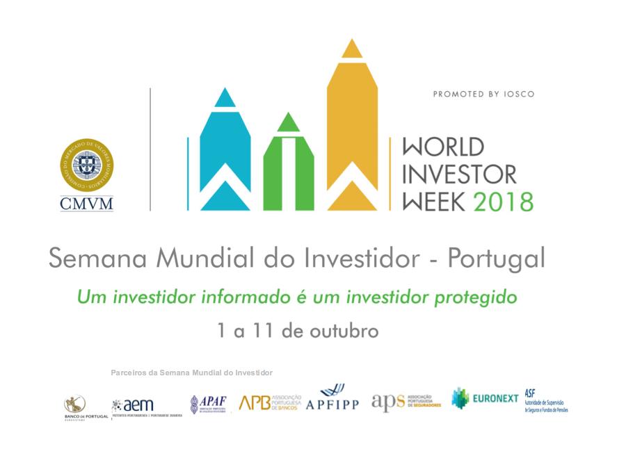 AEM participa na Semana Mundial do Investidor