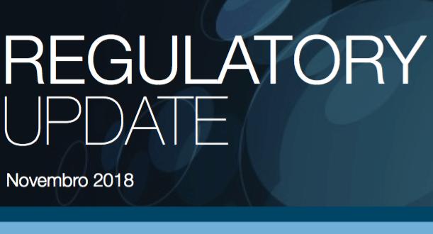 AEM – REGULATORY UPDATE de Novembro de 2018
