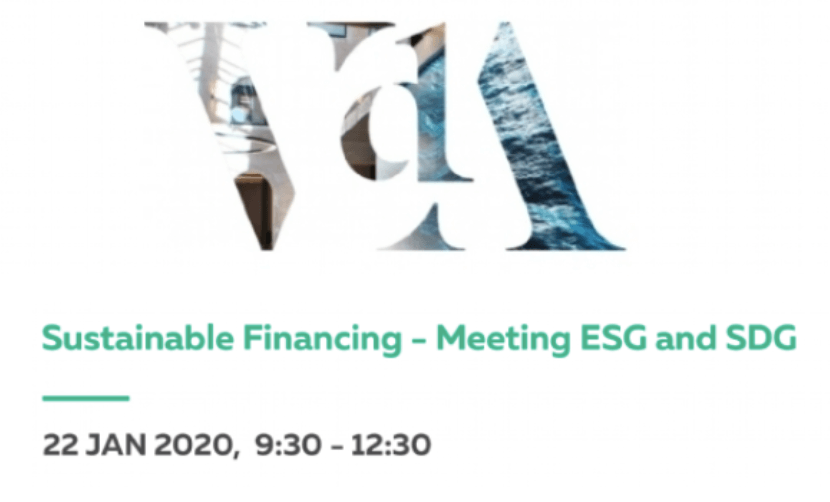 "ABEL SEQUEIRA FERREIRA NA CONFERÊNCIA ""SUSTAINABLE FINANCING – MEETING ESG and SDG"""