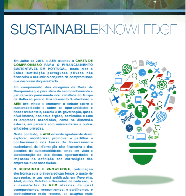 AEM's SUSTAINABLE KNOWLEDGE